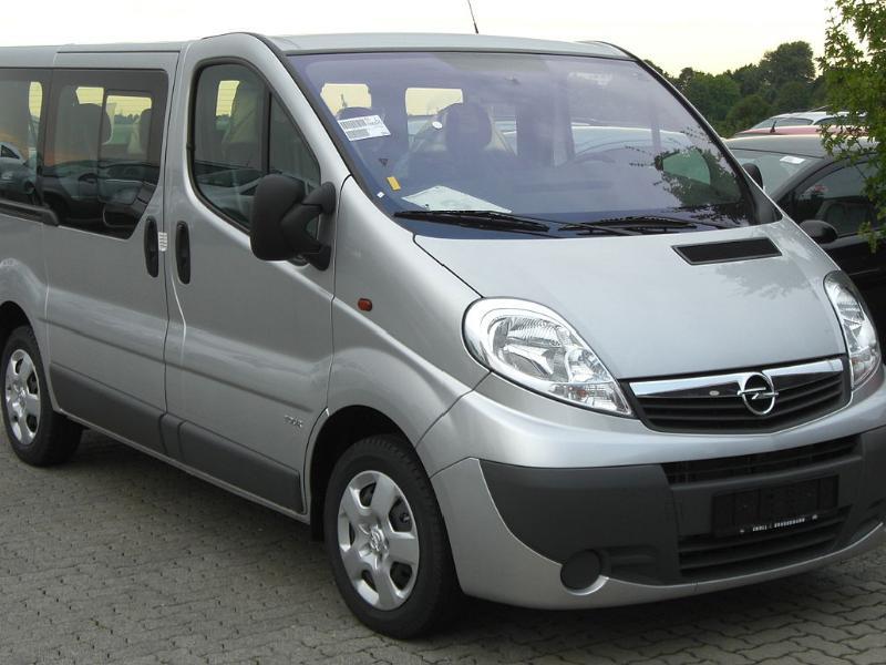ФОТО Усилитель багажника для Opel Vivaro Киев