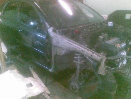 ФОТО Передняя половина для Chevrolet Lacetti Киев