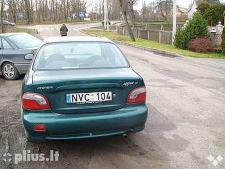 ФОТО Крышка багажника для Hyundai Accent Алчевск