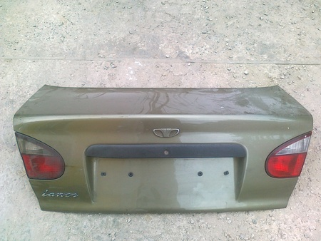 ФОТО Крышка багажника в сборе для Daewoo Lanos Киев
