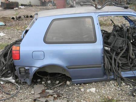 ФОТО Задняя половина для Volkswagen Golf III Алчевск