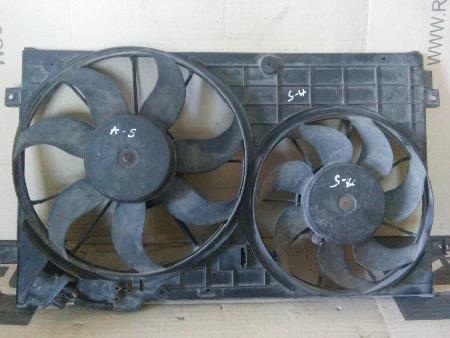 ФОТО Диффузор вентилятора радиатора (Кожух) для Skoda Octavia A5 Киев