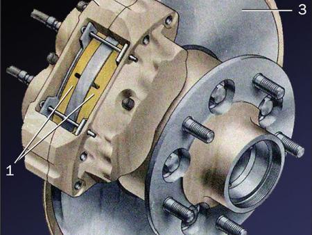 ФОТО Тормозной механизм для Nissan Primastar Киев