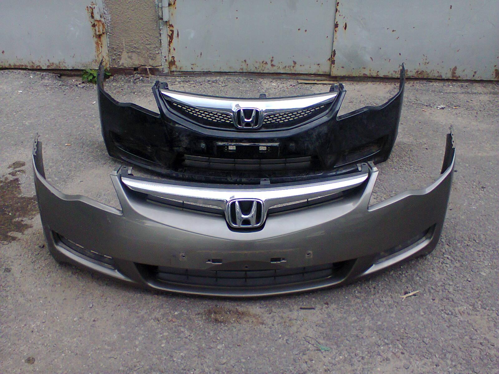 Переднего бампера хонда цивик 4д